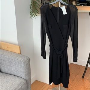 Max Mara black dress Size 8